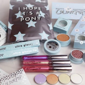 To celebrate their third birthday, ColourPop is releasing a limited-edition bundle bag