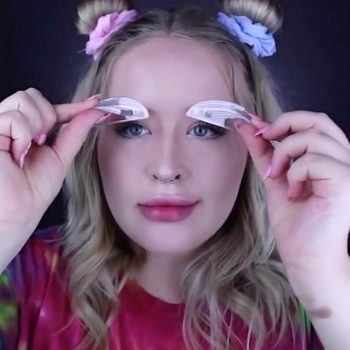 This is the new eyebrow trend taking over Instagram, and it's crazy enough to work