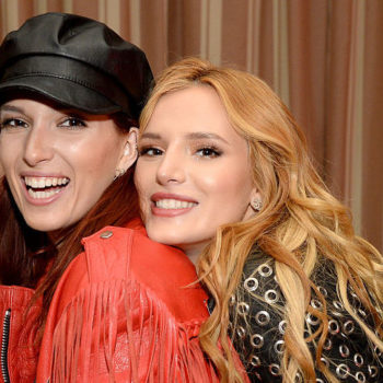 Bella Thorne's sister Dani Thorne is basically her twin but with awesome two-toned hair