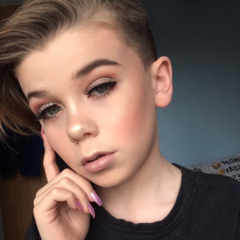This 10-year-old boy is better at makeup than all of us