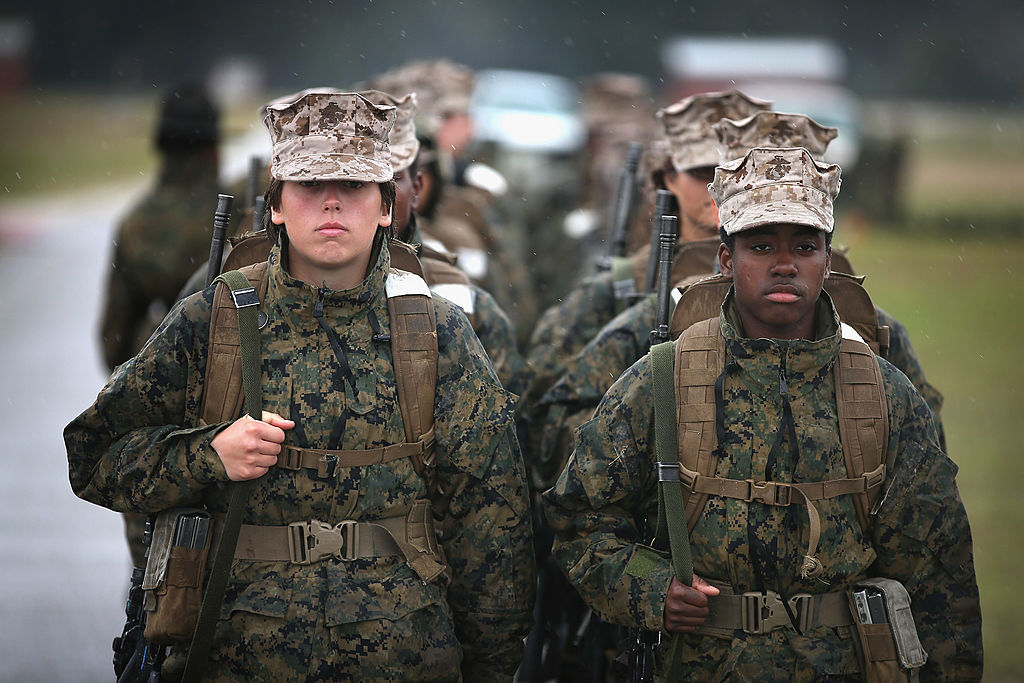 Male Marines Accused of Sharing Naked Photos of Female