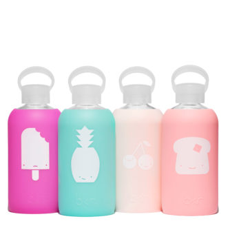 BKR's new water bottle collection will have you thinking about yummy treats