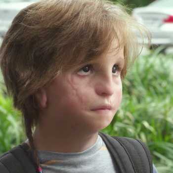 """Jacob Tremblay in the first trailer for """"Wonder"""" will break you"""