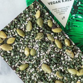 There's now a kale chocolate bar, so basically it's a salad, right?