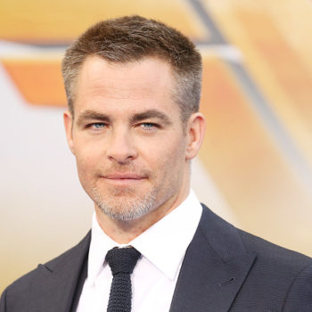 "Chris Pine is obsessed with ""Wonder Woman,"" as he should be"