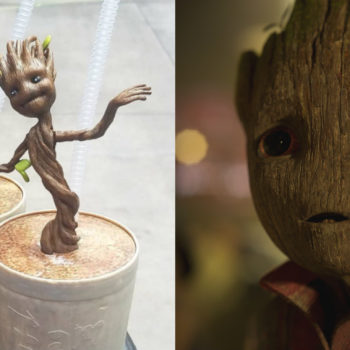 Disney is selling a Groot cup, and yes, we're looking to buy all of them