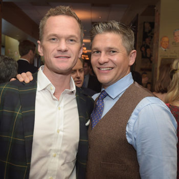 Neil Patrick Harris sent the most adorable birthday message to his partner David