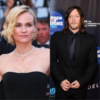 Norman Reedus and Diane Kruger make their love Instagram official