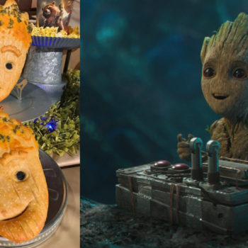 Breaking news: Disneyland is now selling Groot *bread*