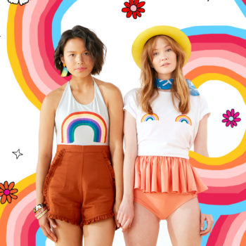 "The ban.do ""fruits & rainbows"" collection is here, and your pool party just got juicier"