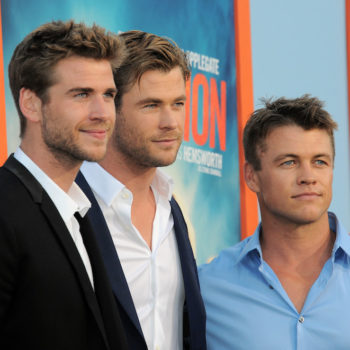The Hemsworth brothers admit to having a healthy rivalry, and really we're all winners