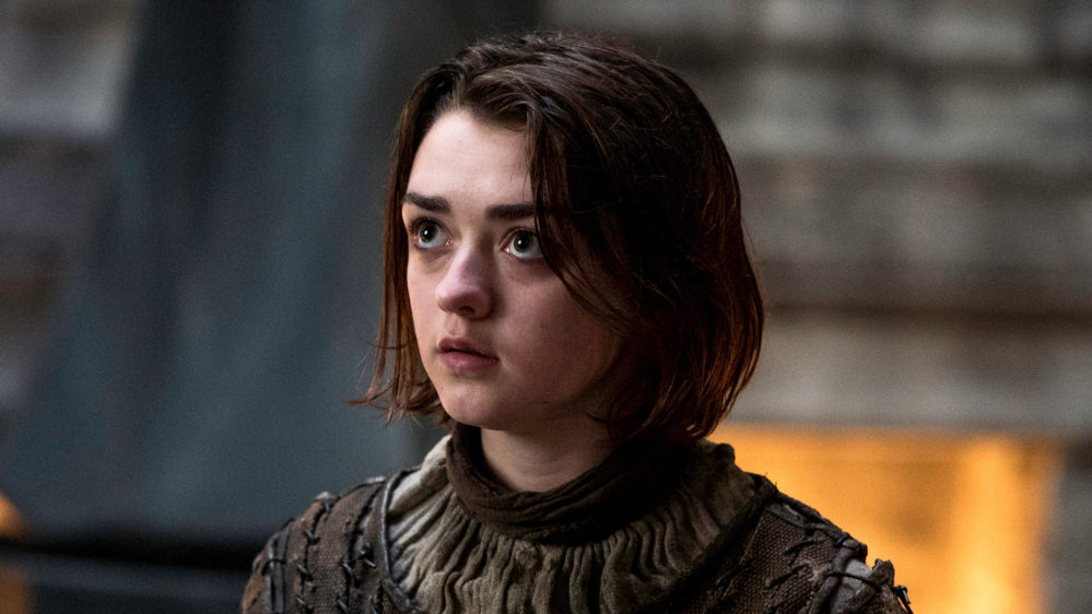 This is the one object Maisie Williams kept from the set of <em>Game of Thrones</em>