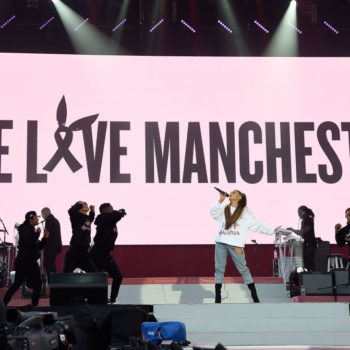 You can get Ariana Grande's One Love Manchester sweatshirt *and* support victims of the terrible attack