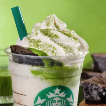 Starbucks is now putting chocolate cake on their Frappuccinos