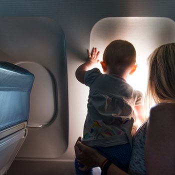 This is how you can keep your baby safer when you're flying on an airplane