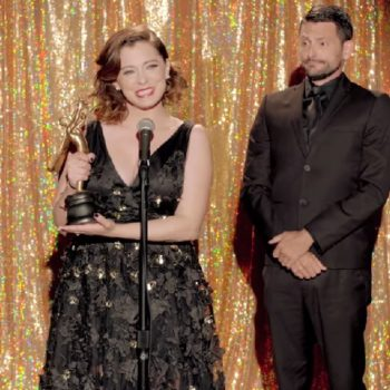 Rachel Bloom made a music video about hating award shows, and LOL
