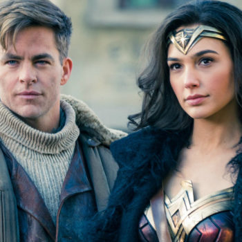 """Chris Pine admitted this hilarious scene in """"Wonder Woman"""" was actually improvised"""