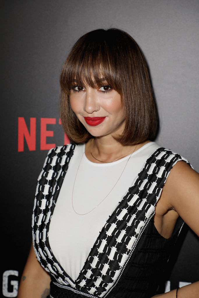 Oitnb Star Jackie Cruz Rocked A Brand New Curly Hairstyle