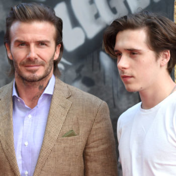David Beckham shared the story of Brooklyn's first tattoo, and it's surprisingly sweet