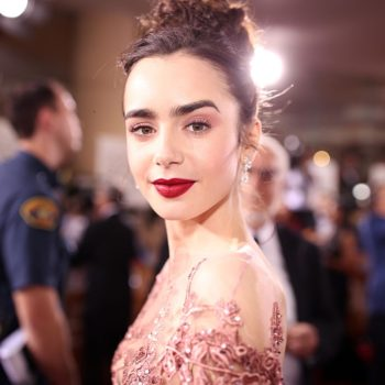 Here's what you need to copy Lily Collins' beautiful sunshine eye look