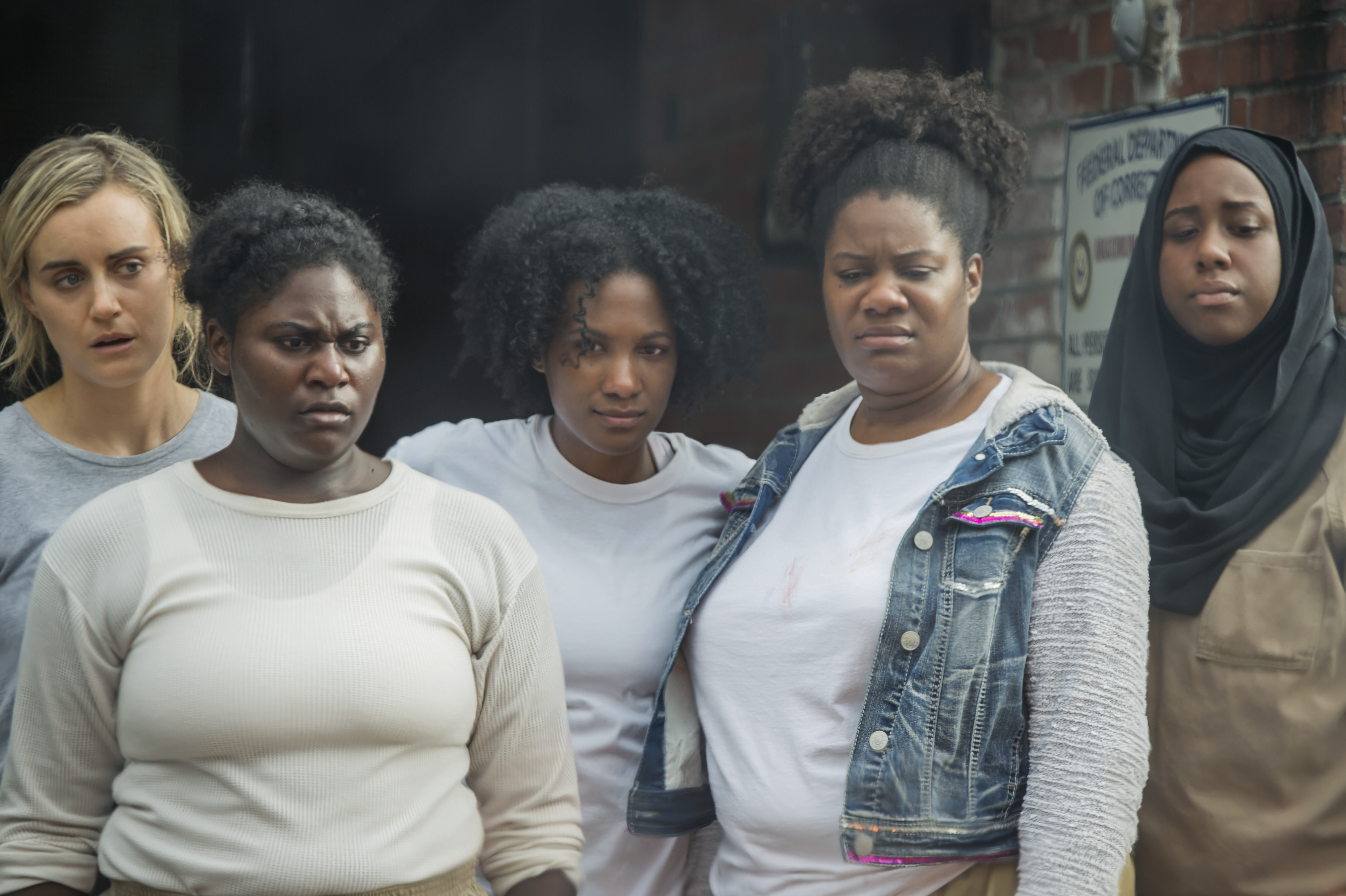 Orange is the new black director dating poussey and taystee
