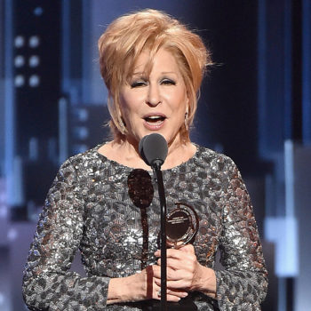 Bette Midler refused to be played off at the Tonys, and it's everything