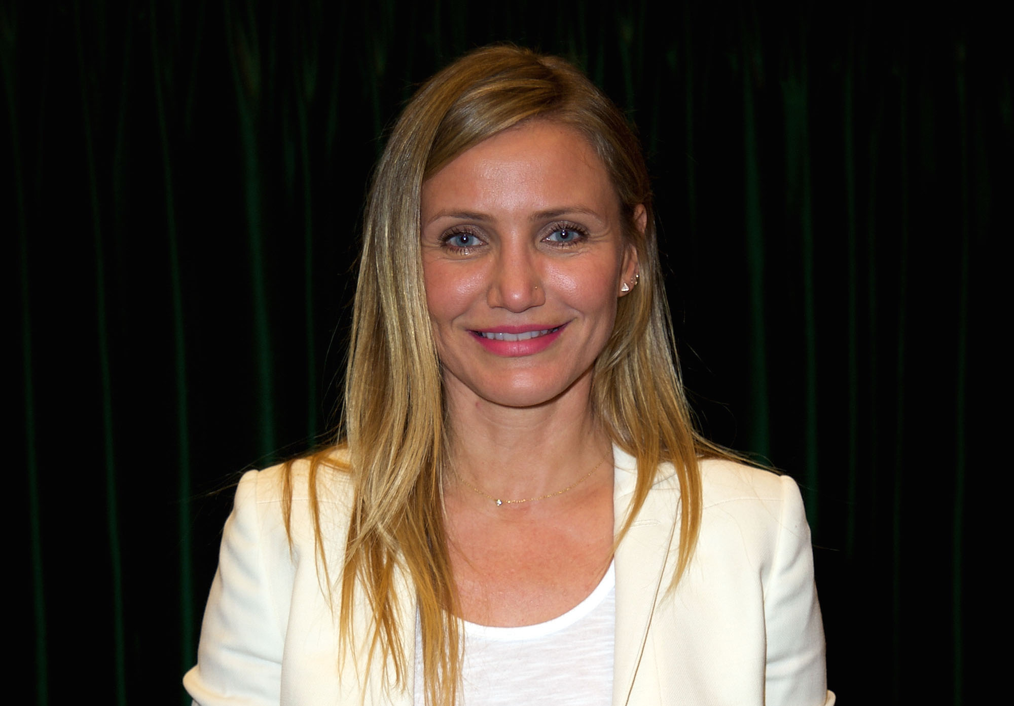 We now know why we haven't seen Cameron Diaz lately ...Cameron Diaz
