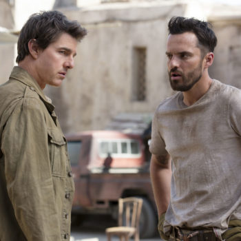 "Tom Cruise had a few polite demands for Jake Johnson while filming ""The Mummy"""