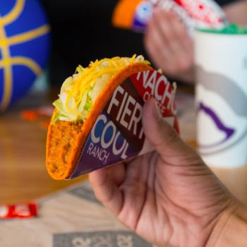 You can get free Taco Bell today and today only, SO HURRY