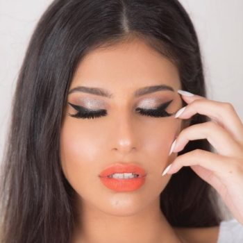 """The """"Kitten"""" Vamp Stamp is here for those who prefer a more subtle cat eye"""