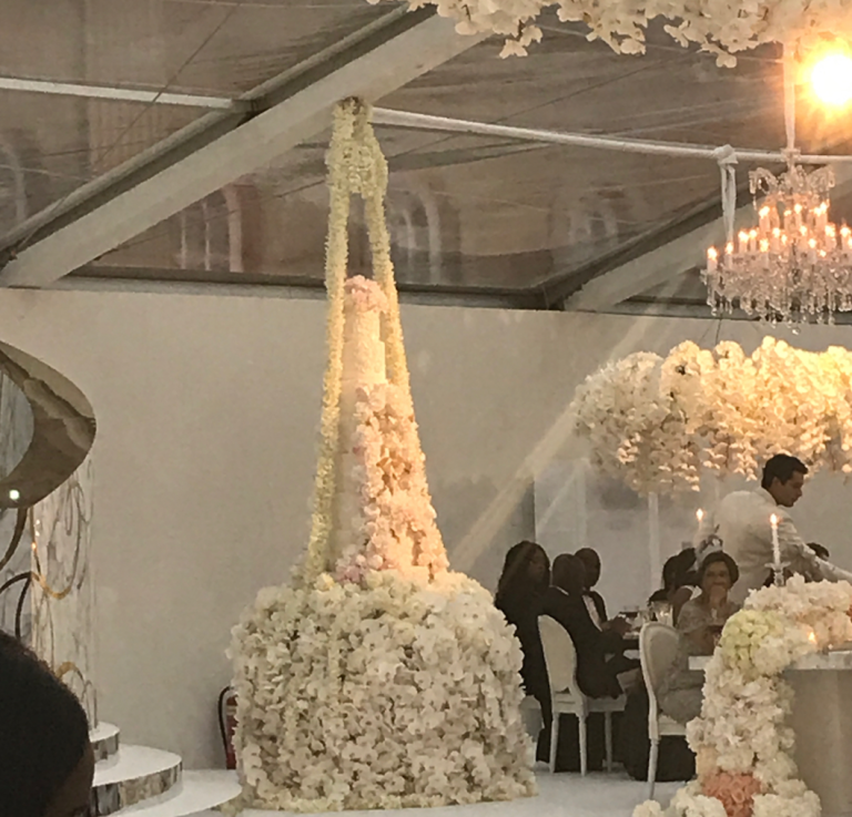 This Wedding Cost 63 Million And Wait Til You See The Cake