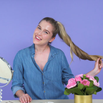 3 ways to perk up your ponytail