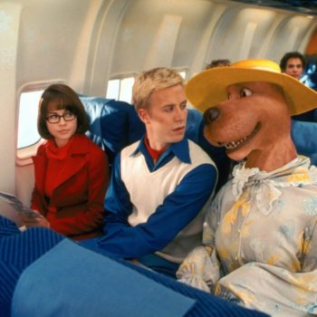 """Once upon a time, the live-action """"Scooby Doo"""" movie was rated R"""