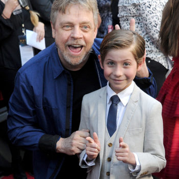 """Mark Hamill hung out with """"Star Wars"""" superfan Jacob Tremblay, and it was adorable"""