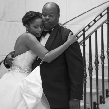 """Why I decided to do a """"first look"""" with my dad at my wedding"""