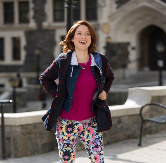 "Naps are encouraged on the ""Kimmy Schmidt"" set, as if we couldn't love the show anymore"