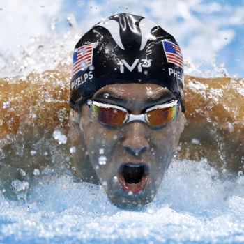 Hold up, Michael Phelps is actually going to race a shark?
