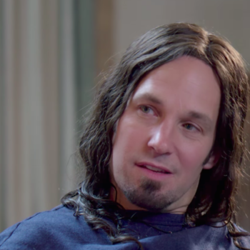 "Paul Rudd is too much '90s grunge in the ""Wet Hot American Summer: Ten Years Later"" trailer, and this is a lot to process"