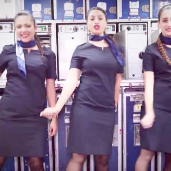 """Today in YAS: This Israeli airline's promo video is a totally fierce lip sync to Britney Spears' """"Toxic"""""""