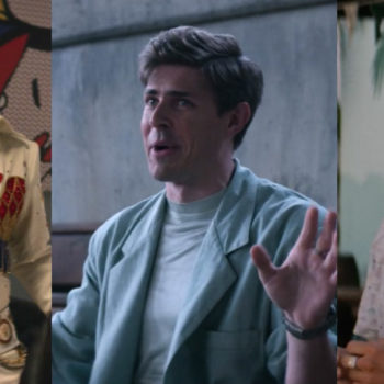 "Here's another reason you need to watch ""GLOW"" — Chris Lowell and his '80s blazers are an absolute delight"