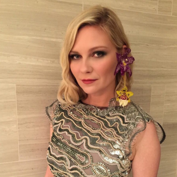 Kirsten Dunst shared a text her mom sent her, and it's PEAK mom