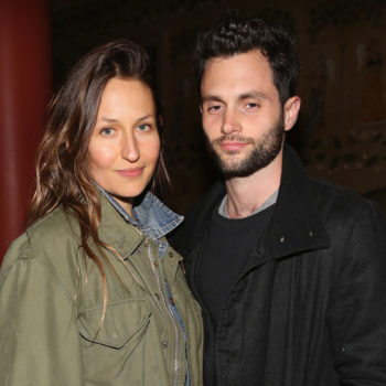 Penn Badgley and Domino Kirke got married — again — this past weekend