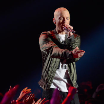 Eminem has a beard now, and he looks completely different