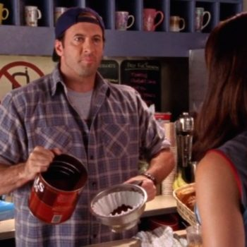 """Scott Patterson from """"Gilmore Girls"""" is starting his own coffee brand IRL because OF COURSE he is"""