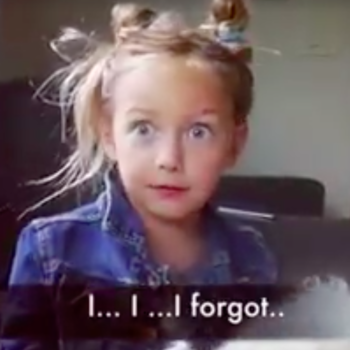 This little girl is literally all your friends who always bail on plans