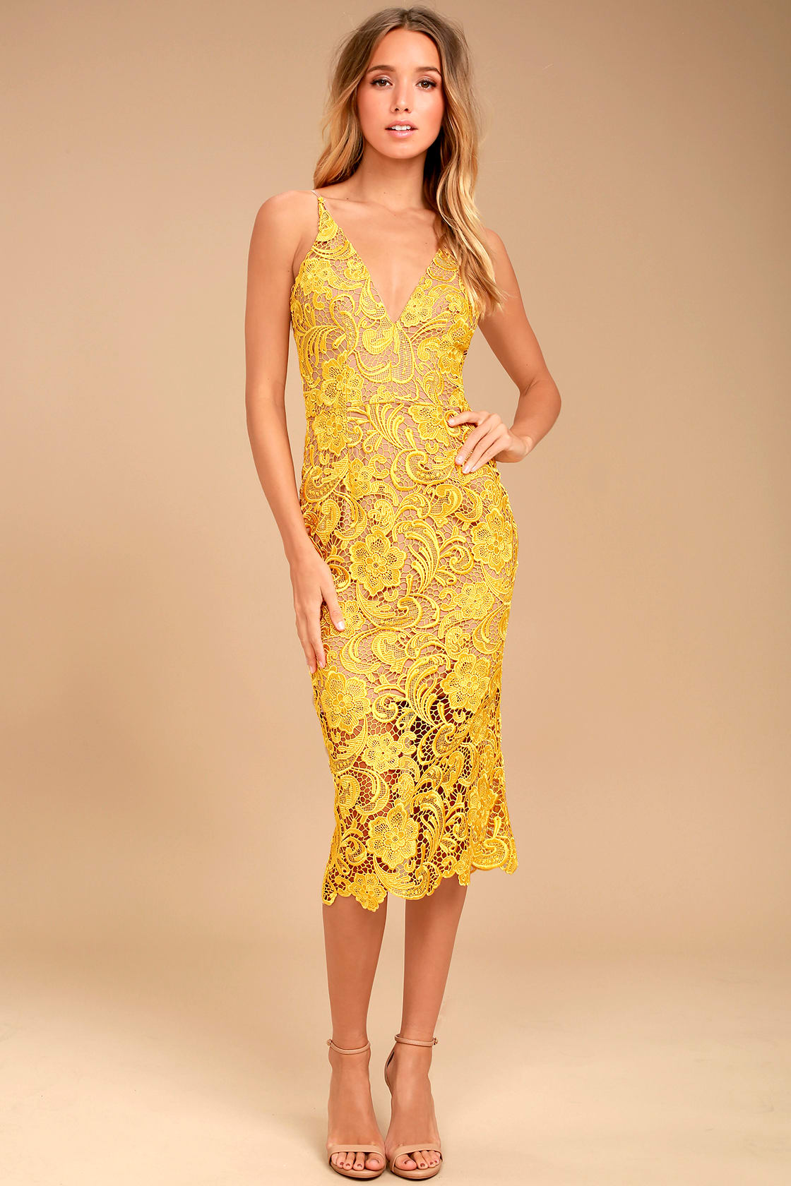 Lulus is the perfect wedding guest dress destination for Yellow dresses for wedding guests