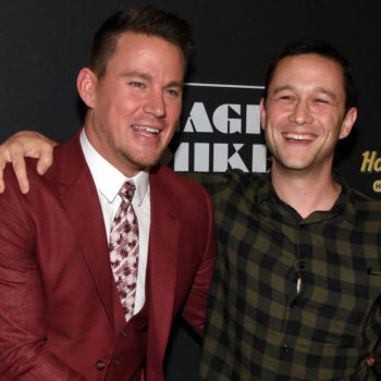 Channing Tatum and Joseph Gordon-Levitt have a series in the works, because dreams come true