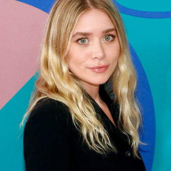 Ashley Olsen wore a super oversized white shirt, and now we need one