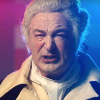 Alec Baldwin impersonates George Washington as Trump, and uh, just watch it