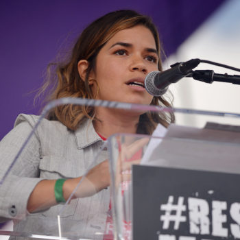 America Ferrera just shared a powerful message about standing with immigrants